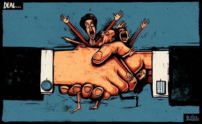 ΕΙΚΟΝΑ---Ελλάδα Το χάος των μνημονίων
