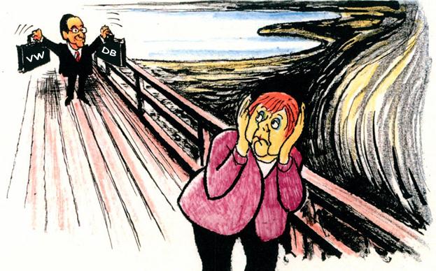 ΕΙΚΟΝΑ---Μέρκελ,-Γερμανία Merkel, ήττα κατά κράτος
