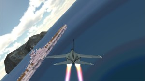 Android F18 Airplane Pilot Simulator Screen 2