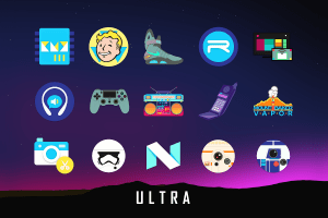 Android Ultra Icon Pack Screen 3