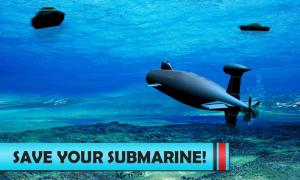 Android Navy War Russian Submarine 3D Screen 2