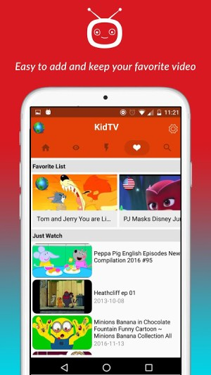 Android net.studio7.kidTV Screen 3