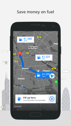 Android GPS Navigation & Maps Sygic Screen 5