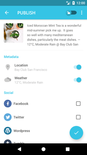 Android Journey - Diary, Journal Screen 10