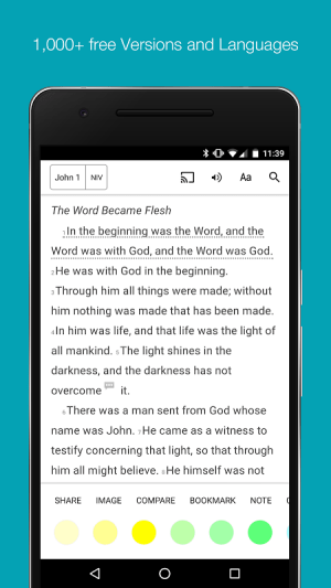 Android Bible: Daily Bible + Audio & Verse of the Day Screen 15