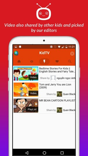 Android net.studio7.kidTV Screen 2