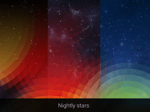 Android Weatherback Wallpaper Screen 5