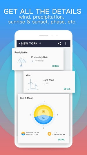 Android 360 Weather - Local Weather Forecast  & Radar app Screen 3