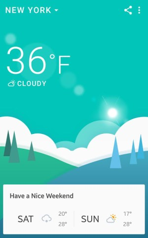 Android 360 Weather - Local Weather Forecast  & Radar app Screen 7