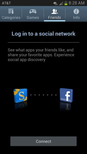 Android Galaxy Apps Screen 2