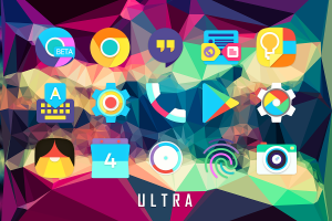 Android Ultra Icon Pack Screen 7