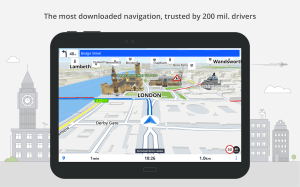 Android GPS Navigation & Maps Sygic Screen 12