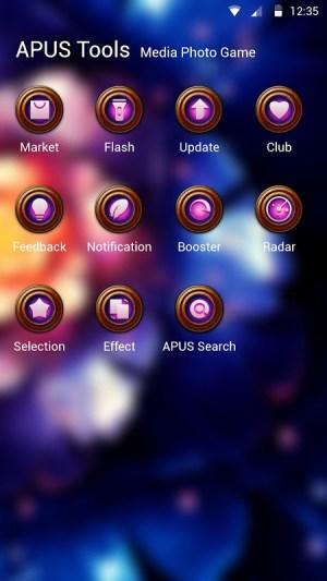 Android Razortail Theme Screen 2