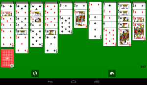 Android Solitaire Screen 20