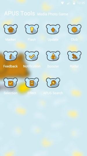 Android Rilakkuma Theme Screen 2