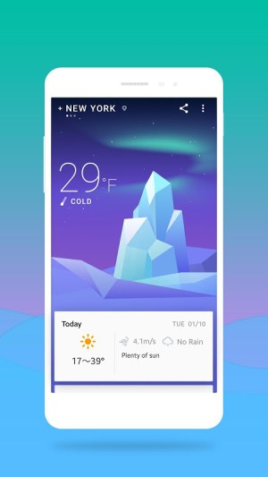 Android 360 Weather - Local Weather Forecast  & Radar app Screen 5