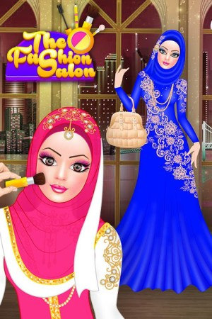 Android Hijab Fashion Doll Dress Up Screen 1