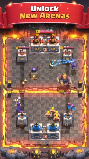 Android Clash Royale Screen 4