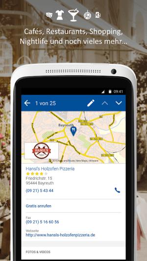 Android Das Örtliche Telefonbuch & Auskunft in Deutschland Screen 9