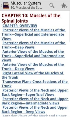 Android Muscular System Manual Screen 1