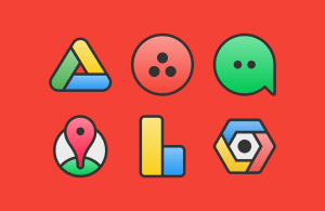 Android XIM - Icon Pack Screen 1