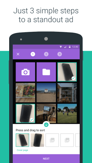 Android OLX South Africa: Sell and Buy Screen 2
