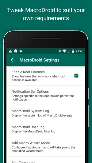 Android MacroDroid - Device Automation Screen 7