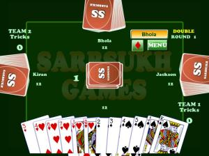 Android Card Game Coat : Court Piece Screen 6