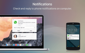 Android AirDroid: Remote access & File Screen 2