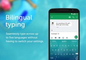 Android SwiftKey Keyboard Screen 3