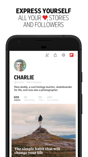 Android Flipboard: News For Any Topic Screen 7