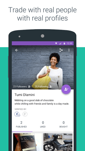 Android OLX South Africa: Sell and Buy Screen 3