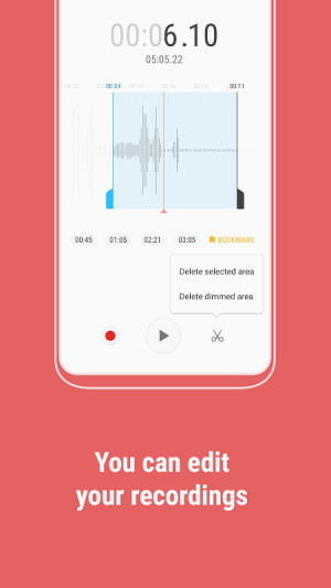 Android Samsung Voice Recorder Screen 3