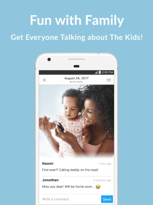 Android Family Album Mitene: Private Photo & Video Sharing Screen 7