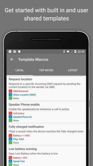 Android MacroDroid - Device Automation Screen 6