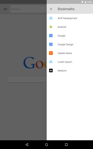 Android Lightning Web Browser + Screen 10