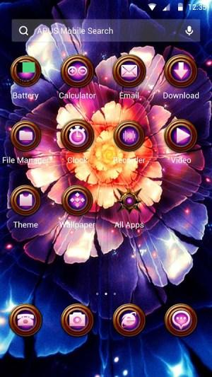 Android Razortail Theme Screen 1