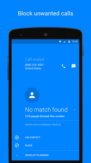 Android Hello – Caller ID & Blocking Screen 2