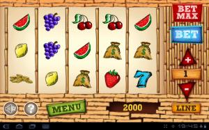Android Lucky Slots Screen 1