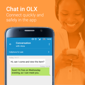Android OLX Uganda Sell Buy Cellphones Screen 2
