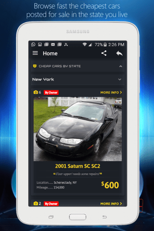Android Cheap Cars For Sale - Autopten Screen 7