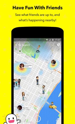 Android Snapchat Screen 3