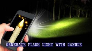 Android Candle FlashLight Screen 2