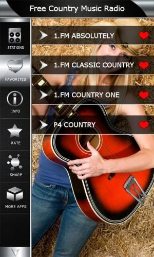 Android Free Country Music Radio Screen 4