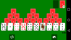 Android Solitaire Screen 3