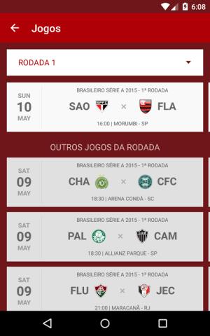 Android São Paulo SporTV Screen 2