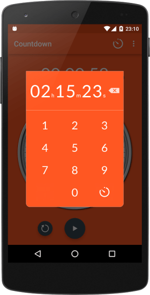 Android Chronometer Screen 4