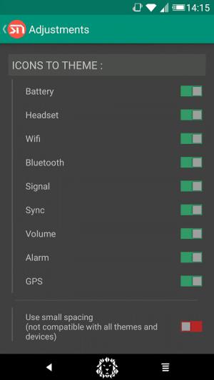 Android Xstana - Navbars & Statusbars Screen 4