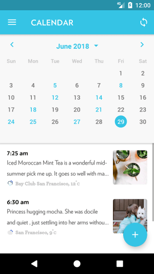 Android Journey - Diary, Journal Screen 7