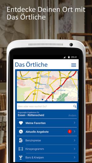 Android Das Örtliche Telefonbuch & Auskunft in Deutschland Screen 7